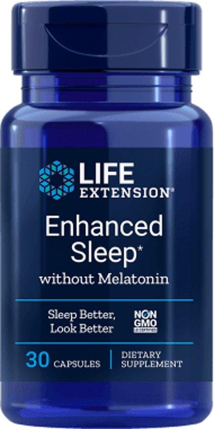Enhanced Sleep without Melatonin, 30 capsules