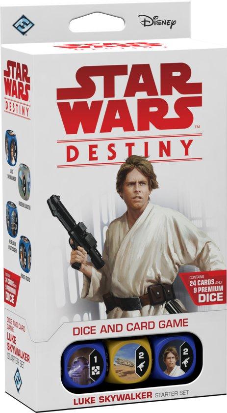 Afbeelding van het spel Star Wars Destiny - Luke Skywalker Starterset