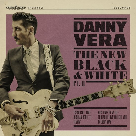 CD cover van New Black And White Pt.II van Danny Vera