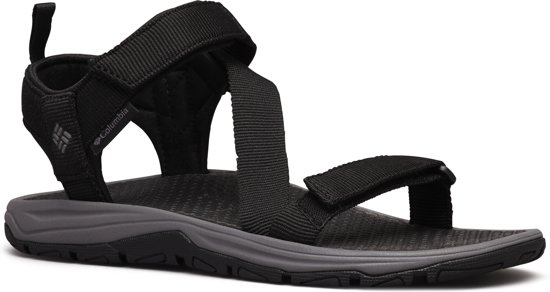 Columbia WAVE TRAIN Sandalen - Heren - Black / City Grey