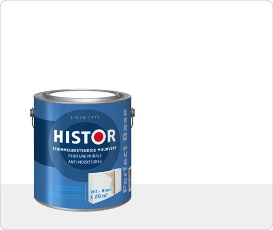 bol.com | Histor Perfect Base Schimmelbestendige Muurverf 2,5 ...