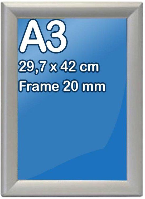 Bolcom Kliklijst A3 Formaat 297 X 42 Cm Frame 20 Mm
