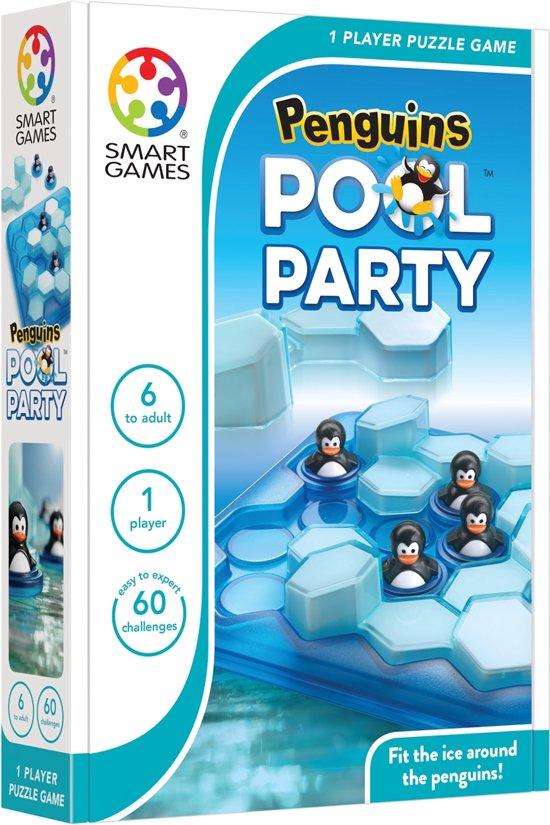 Afbeelding van het spel Smart Games Penguins Pool Party (60 opdrachten)