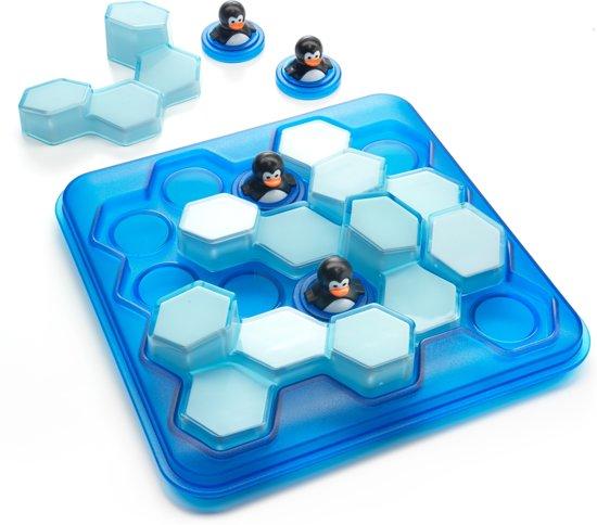 Thumbnail van een extra afbeelding van het spel Smart Games Penguins Pool Party (60 opdrachten)