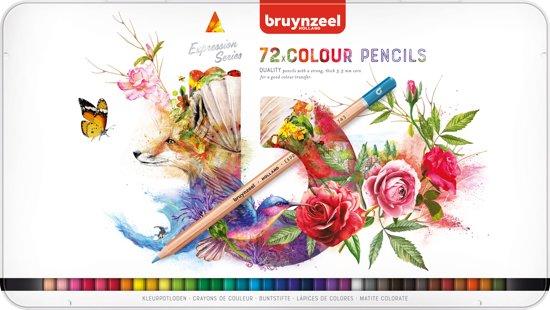 Bruynzeel Expression blik 72 kleurpotloden