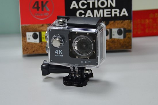 Action - Actie Camera 12MP Ultra HD 4K met WIFI Zwart in Velp