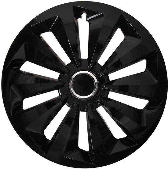 Wieldoppen Fox 16 Inch Zwart Set Van 4