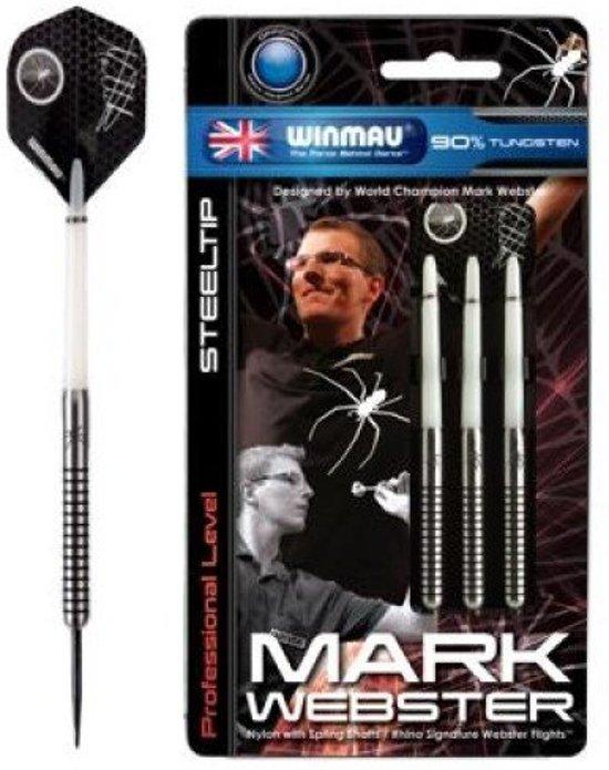 Winmau Mark Webster steeltip dartpijlen - 25 gram