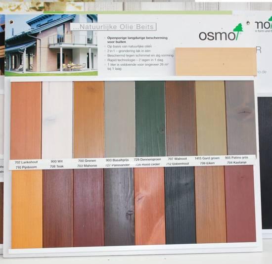 Bekend bol.com | Osmo Buitenhout Natuurlijke Olie Beits (alle kleuren NO67