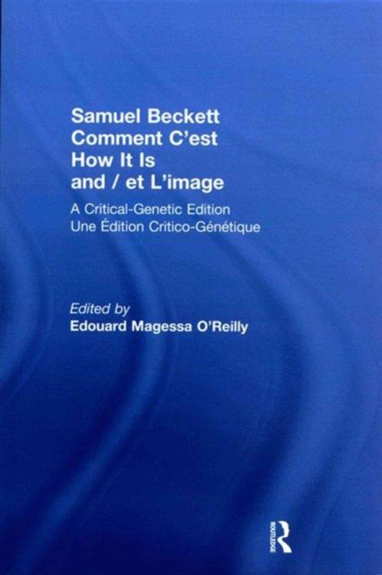 Bolcom Samuel Beckett Comment Cest How It Is And Et Limage