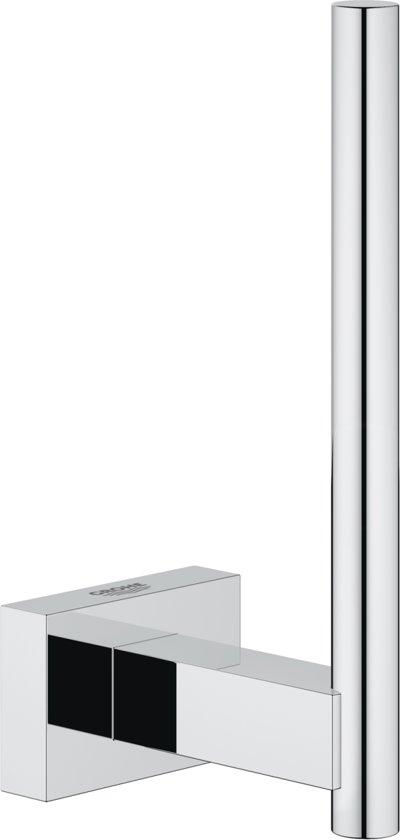 GROHE Essentials Cube Reserverolhouder - WC-rol houder voor 1 rol -  Chroom