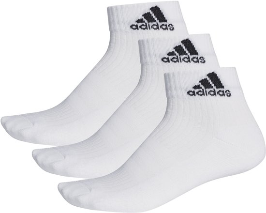 adidas - 3-Stripes Performance Ankle 3 Pair - Unisex - maat 47-50