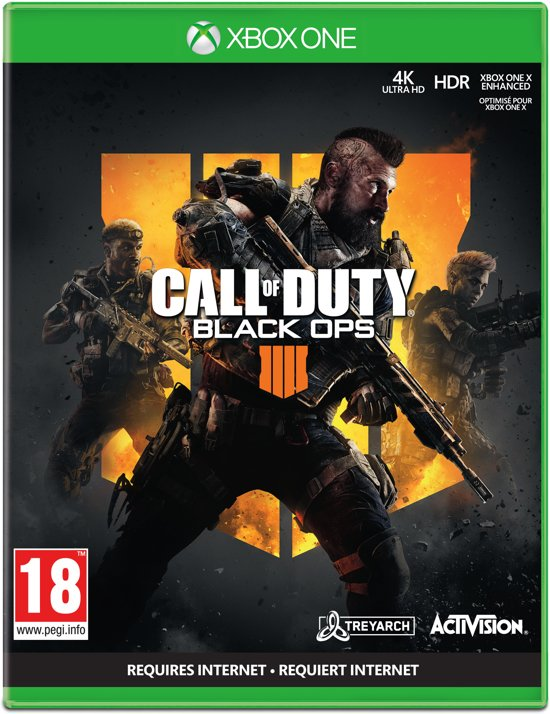 Cover van de game Call of Duty: Black Ops 4 - Xbox One