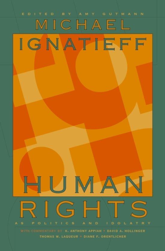 Boek cover Human Rights as Politics and Idolatry van Michael Ignatieff (Paperback)