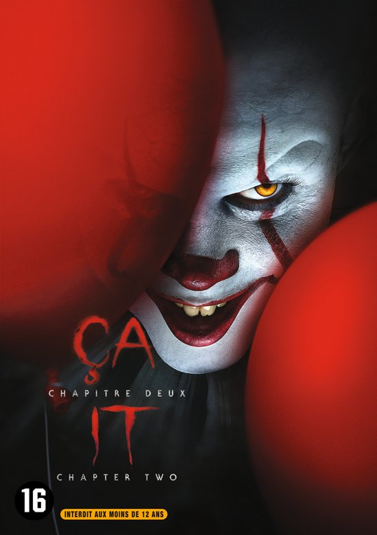 DVD cover van IT: Chapter Two