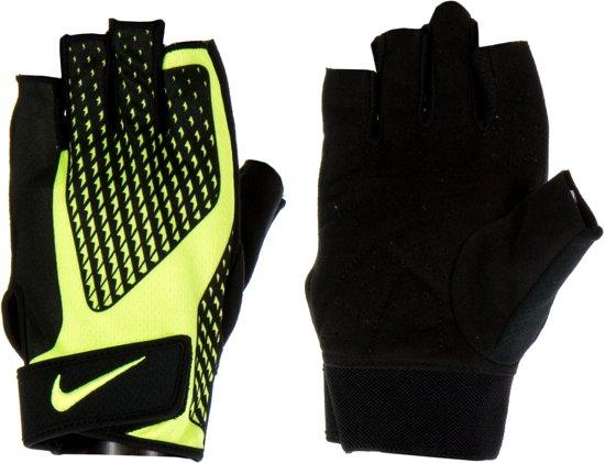 Nike Core Lock 2.0 Trainings Handschoenen  Sporthandschoenen - Mannen - geel/zwart