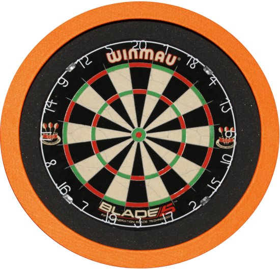 TCB X-Ray Led-verlichting surround Oranje - BEST Getest - dartbord verlichting - dartbord surround