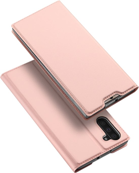 Samsung Galaxy Note 10 hoesje - Dux Ducis Skin Pro Book Case - Rosé-Goud