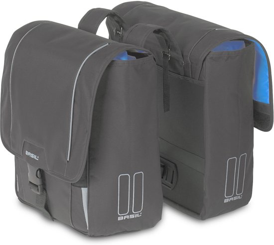 Basil Sport Design Double Bag Dubbele Fietstas - 32 l - Grijs