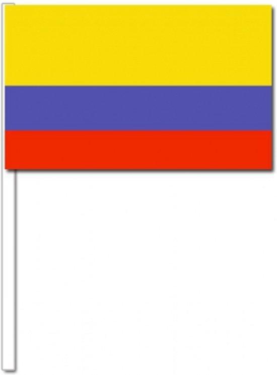 10 Colombia zwaaivlaggetjes