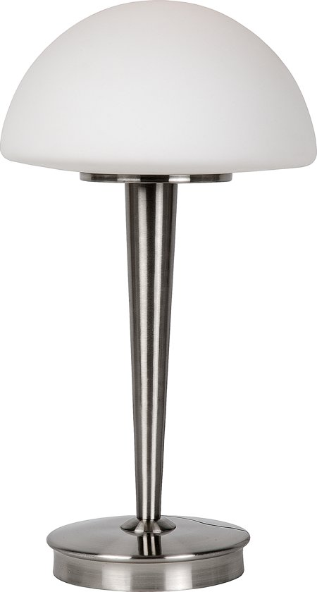 Lucide TOUCH - Tafellamp - Ø 23 cm - Mat chroom