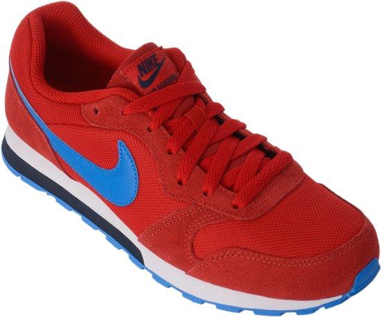 Nike Md Runner 2 (gs) Junior Baskets Sneakers - Taille 40 - Unisexe - Gris / Bleu EOtQJU