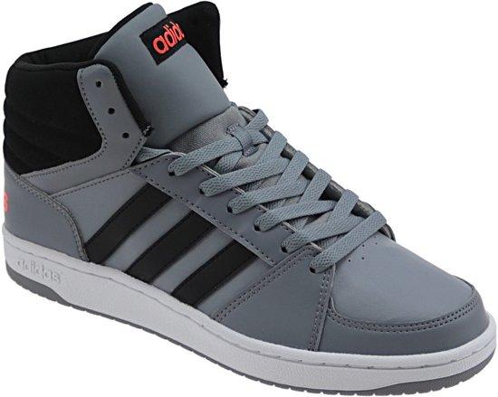 5c178857526 bol.com   Adidas Hoops Mid Heren Schoen - Grijs/Black - Maat 42