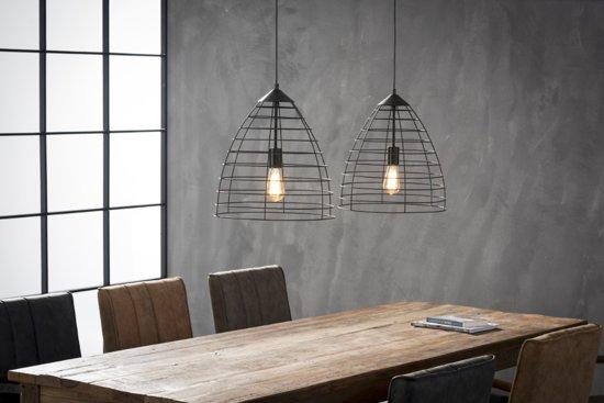 bol.com | HomeisHome Hanglamp Wire Frame 2xØ40cm