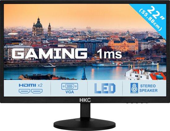 HKC 22P6 1Ms 22 inch Full HD 2xHDMI Speaker Gaming Monitor