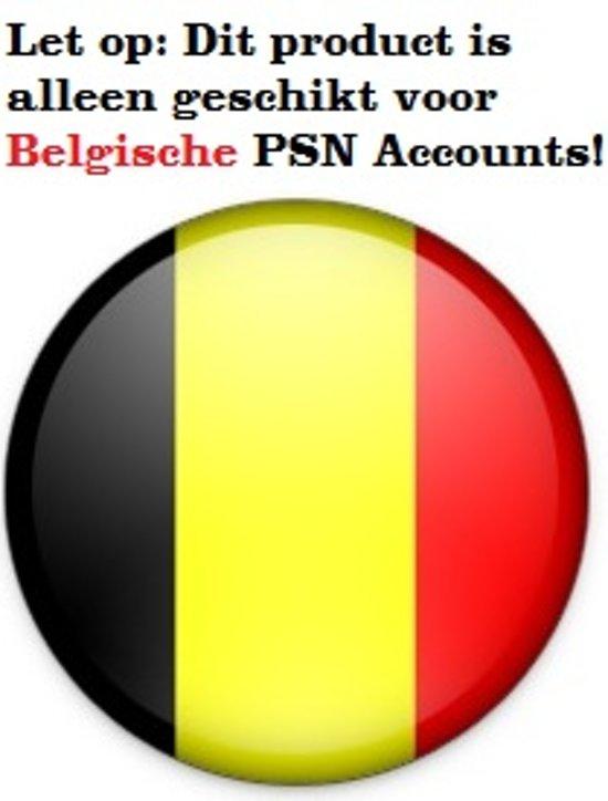 Belgisch  PlayStation Network PSN Giftcard Kaart 50 Euro België - PS4 + PS3 + PS Vita