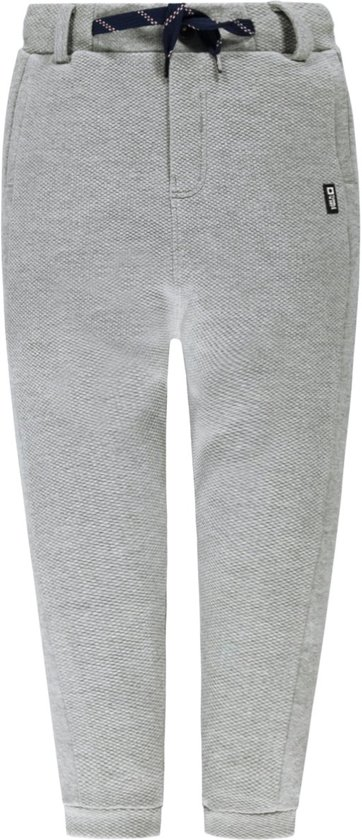 Tumble 'n dry Jongens Broek Miska -  light grey melange  -  maat 98