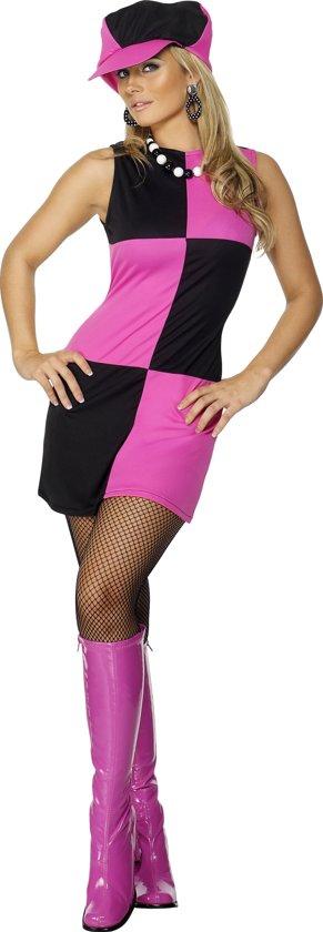 """""""Roze discokostuum voor vrouwen - Verkleedkleding - Medium"""""""