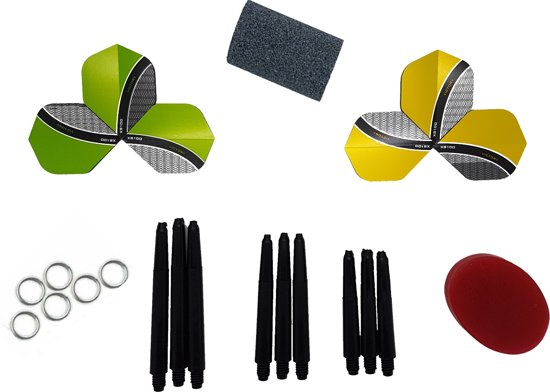 Dragon Darts Cadeauset - voor dartpijlen - dartshaft - dartflight - dart accessoires