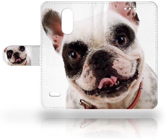 Uniek Design Hoesje Hond voor de LG K8 (2017) in Arbrefontaine