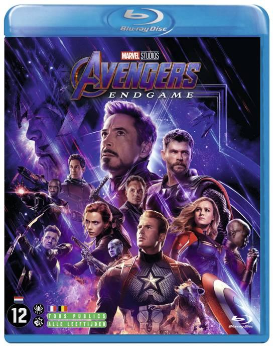 DVD cover van Avengers: Endgame (Blu-ray)