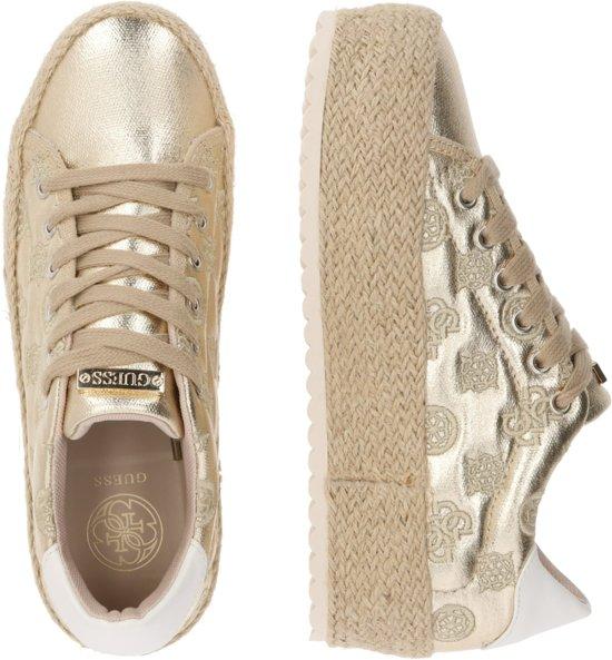 Guess sneakers laag Goud 39