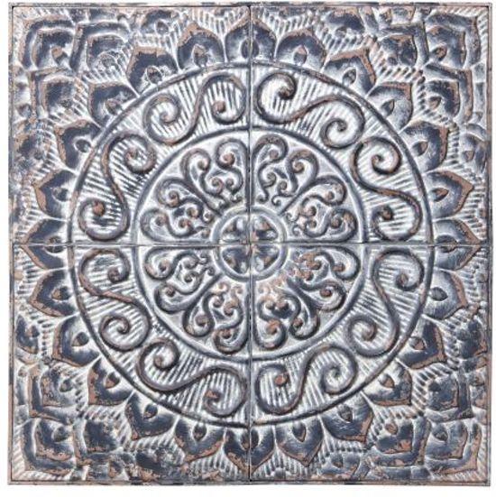 bolcom woonexpress wanddecoratie krullen grijs