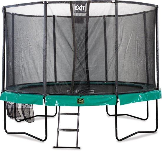EXIT Supreme All-in-1 - Trampoline - 427 cm - Inclusief Veiligheidsnet