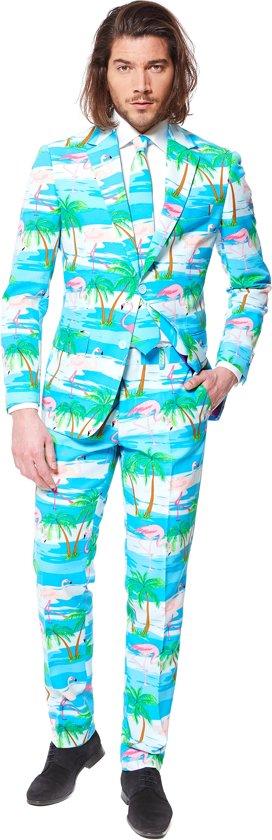 OppoSuits Flaminguy - Kostuum - Maat 56