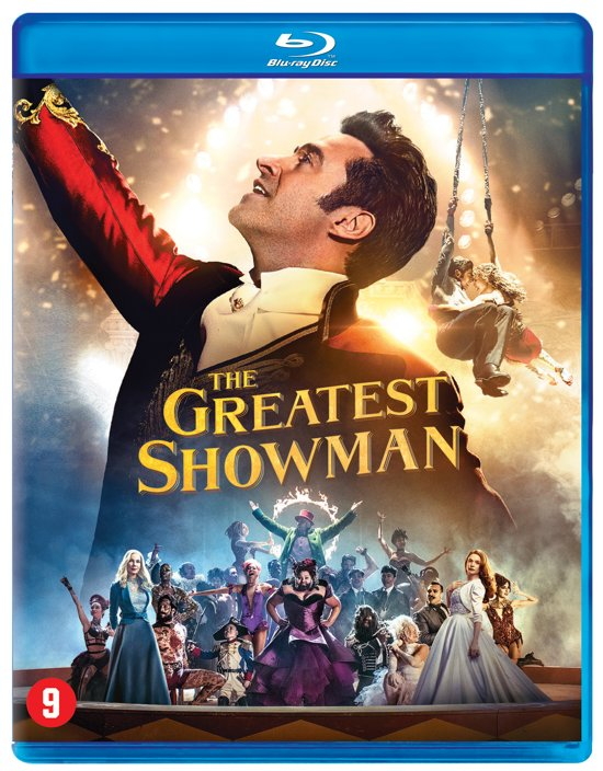 DVD cover van The Greatest Showman (Blu-ray)