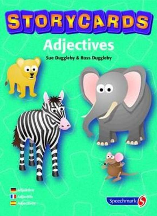 Afbeelding van het spel Storycards Adjectives