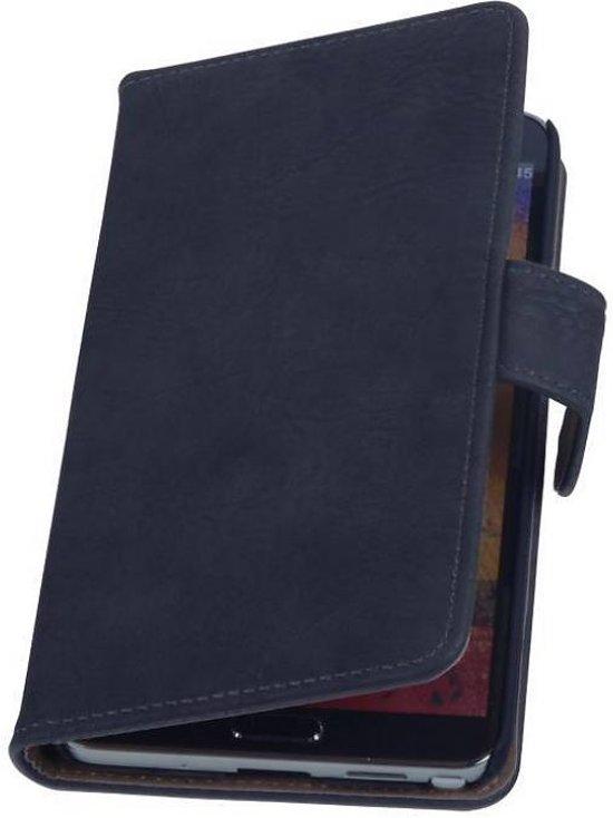 Mobieletelefoonhoesje.nl - Samsung Galaxy Note 3 Hoesje Hout Bookstyle Grijs in Peerenboom