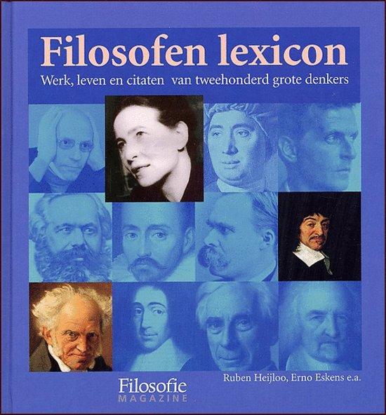 Filosofen lexicon