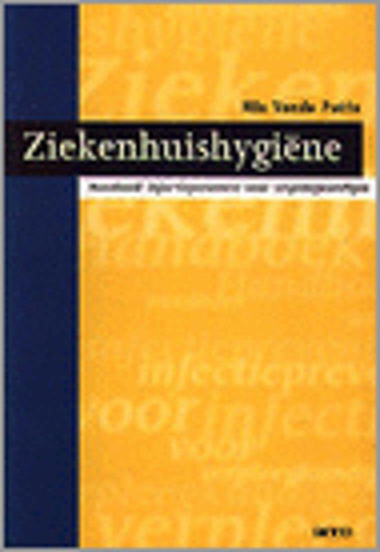 ZIEKENHUISHYGIËN HANDBOEK INFECTIEPREVENTIE IN HET ZIEKENHUIS