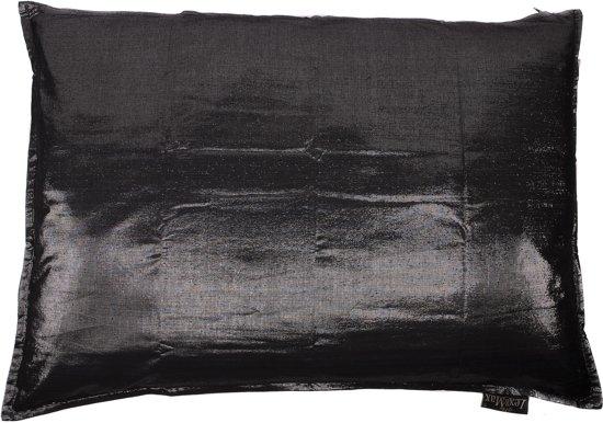 Lex & Max Moonshine - Hondenkussen - Rechthoek - 100x70cm - Zwart
