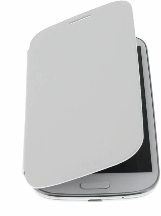 sale retailer 1695e 4def8 Wit flipcover Samsung Galaxy S3 / Neo