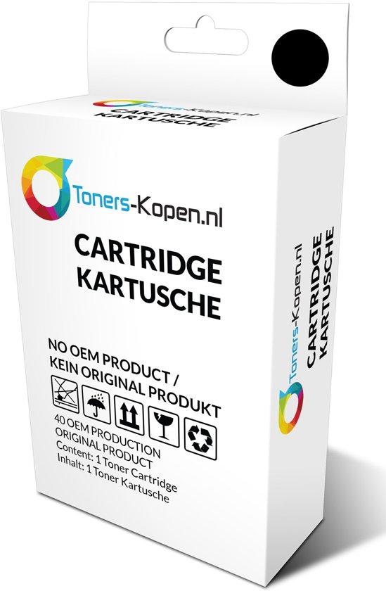 huismerk inkt cartridge voor Lexmark 83 kleur wit Label