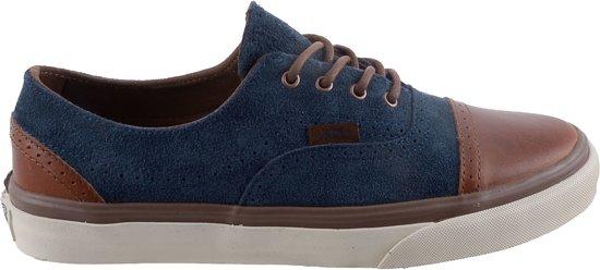 vans schoenen blauw en bruin
