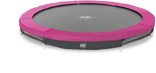 EXIT Silhouette inground trampoline ø244cm - roze