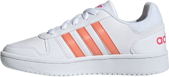 adidas Hoops 2.0 Kinder Sneakers Wit Maat 38 23